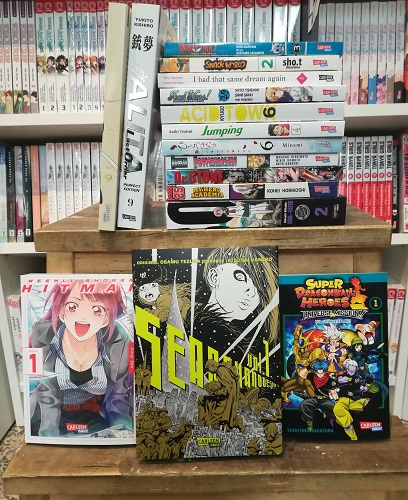 Carlsen Neuheiten November 2020 Manga Anime Novitäten Erfurt Thüringen