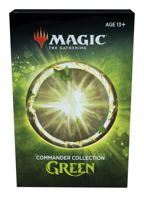Frontalansicht Commander Collection Green