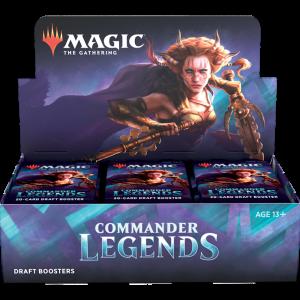 Frontalansicht Commander Legends Display