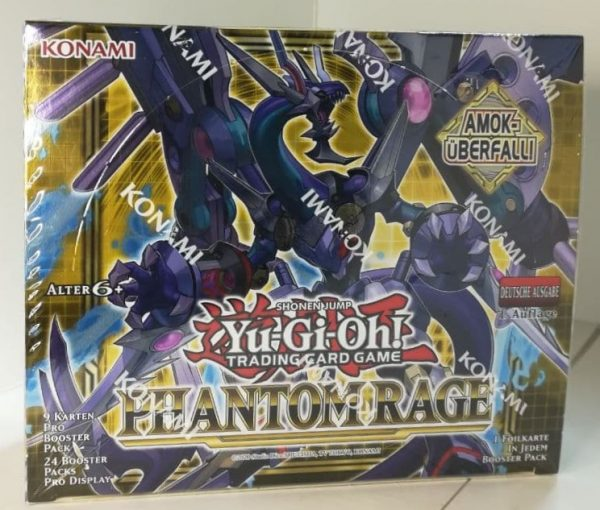 Frontalansicht Phantom Rage Display