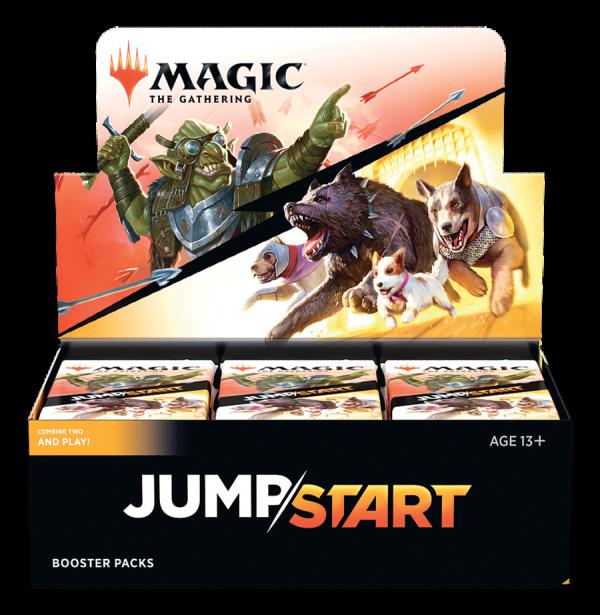 Frontalsansicht MTG Jumpstart Display für den Online Shop